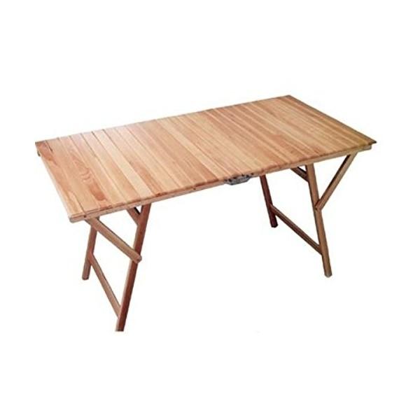 Tavolo Di Legno Pieghevole.Tavolo Legno Pieghevole 140x70 Cm Machx